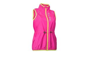 Salming SKYLINE PINK YELLOW WINDBREAKER 1278669-5151