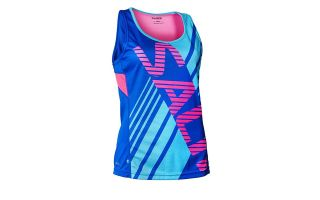 Salming RACE BLUE PINK WOMEN SHIRT 1278326-3333