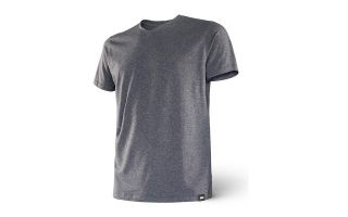 Saxx CAMISETA 3SIX FIVE SS V NECK GRIS SXTS17 HTR