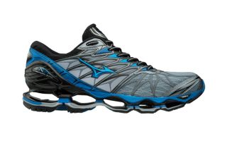 Mizuno WAVE PROPHECY 7 GRIS AZUL J1GC1800 24