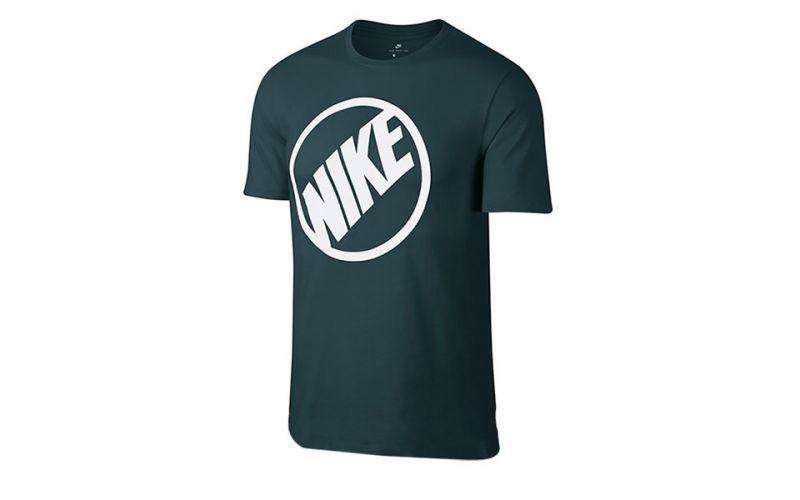 a592bcf153040 Camiseta Nike Nsw Tee Blue Hbr 2 - Camiseta extra confortable
