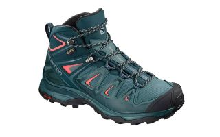 Salomon X ULTRA 3 MID GTX BLU TURCHESE DONNA. L40475500