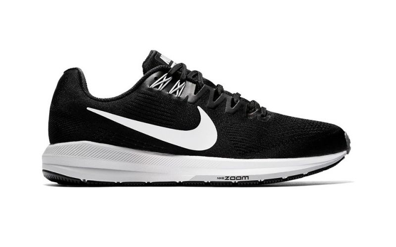 dc4d21ba616a3 Nike Air Zoom Structure 21 Black White - Light and resistant