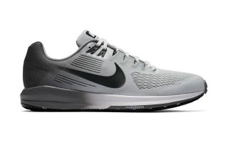 Nike AIR ZOOM STRUCTURE 21 PLATA NEGRO NI904695 005