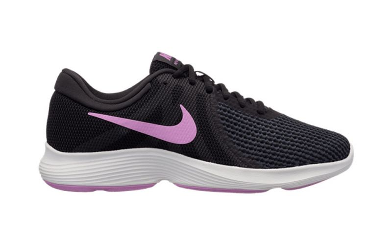 c6f182d879a9a Nike Revolution 4 Black Fuchsia Women - Maximum comfort
