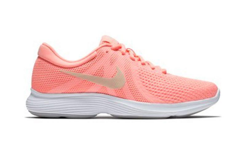 21dbd5f64 Nike Revolution 4 Rosa Mujer - Tracción y amortiguamiento