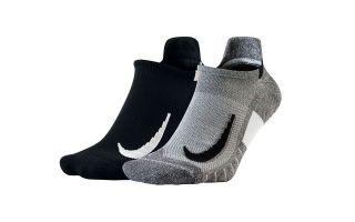 Nike CALCETIN MULTIPLIER NO SHOW NISX7554 915 NEGRO GRIS PAQUETE 2 PARES