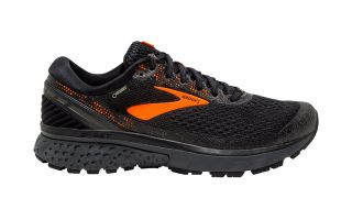 BROOKS GHOST 11 GTX NEGRO NARANJA 110287D038