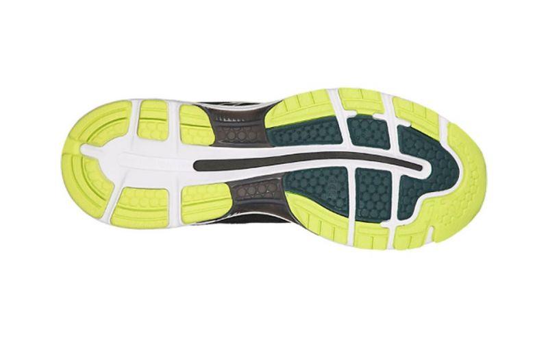 Asics Gel Nimbus 20 Nero Verde Scarpe da corsa per uomo