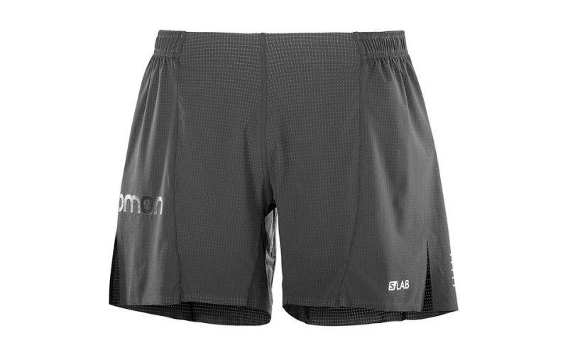 Salomon S Lab 6 black shorts With AdvanceSkin technology