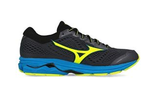 Mizuno WAVE RIDER 22 BLACK YELLOW J1GC183145