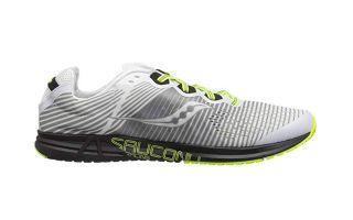 SAUCONY TYPE A8 Men Running Racing Shoe. BlackWhiteCitron. US Size 9 EUR 42.5
