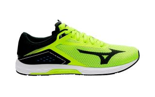 Mizuno WAVE SONIC YELLOW BLACK J1GC1734 47