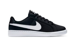 Nike COURT ROYALE BLACK WHITE WOMEN NI749867 010