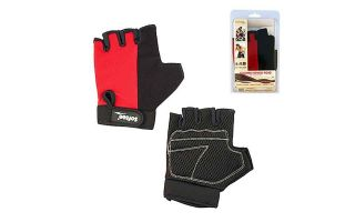 Softee PAIR OF RED FITNESS GLOVES