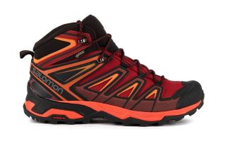 Salomon X ULTRA 3 MID GTX RED BLACK L40468000