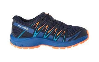 Salomon XA PRO 3D NAVY BLUE ORANGE BOY L40638700