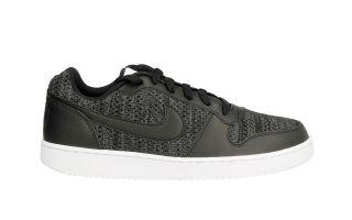 Nike EBERNON LOW PREMIUM SCHWARZES GRAU NIAQ1774 001