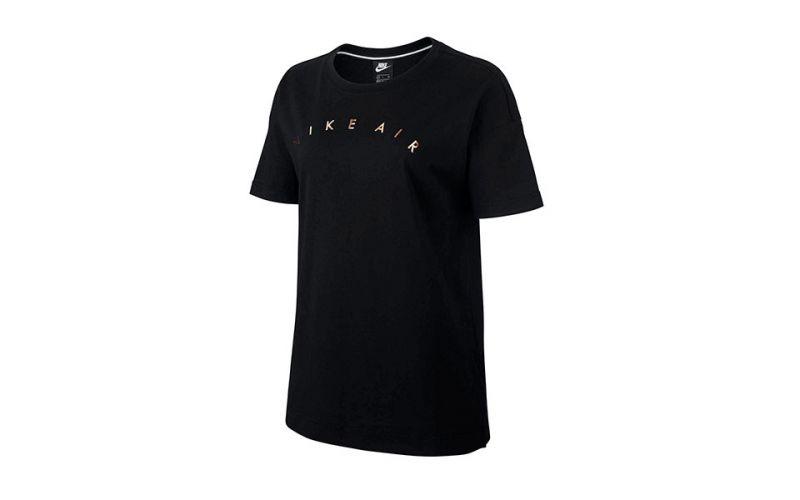2dd6d0b1187fc Camiseta Nike Air Negro Mujer - Comodidad en todo momento
