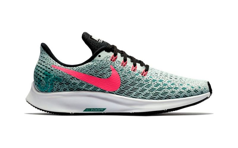 14bd2020e3f Nike AIR ZOOM PEGASUS 35 GRAY GREEN WOMEN NI942855 009