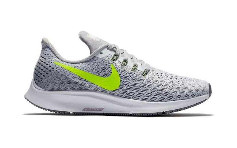 pretty nice 51955 be335 Nike AIR ZOOM PEGASUS 35 WHITE GRAY WOMEN NI942855 101