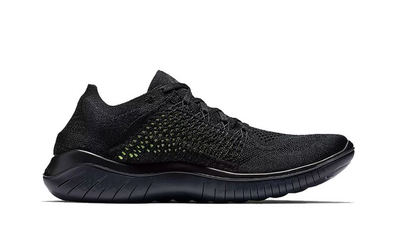 best sneakers 3065b b66d8 Nike FREE RN FLYKNIT 2018 BLACK NI942838 002
