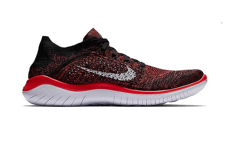 detailed look a5b05 dd0b5 Nike FREE RN FLYKNIT 2018 RED BLACK NI942838 602