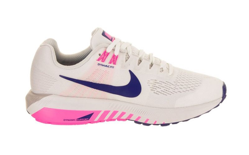 003086fb1c9 Nike AIR ZOOM STRUCTURE 21 WHITE GRAY WOMEN NI904701 101