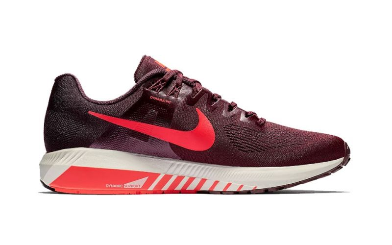 d4b082290b579 Nike Air Zoom Structure 21 Rojo Blanco - Zapatillas running hombre