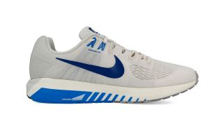 NIKE AIR ZOOM STRUCTURE 21 GRIS AZUL NI904695 008