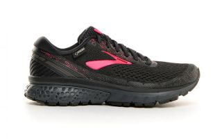 Brooks GHOST 11 GTX BLACK RED WOMEN 1202761B071