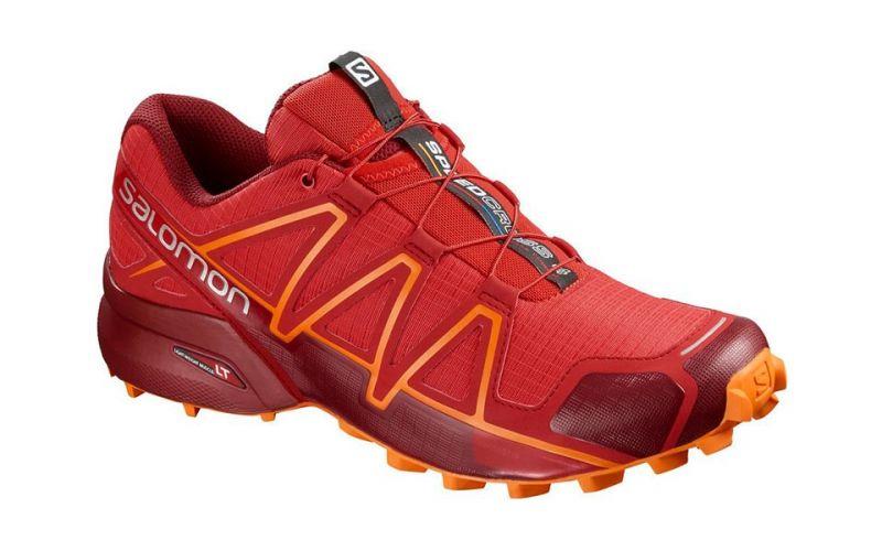 4a5a3127d973 Salomon Speedcross 4 Red Orange - Men trail running shoes