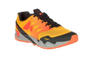 Merrell AGILITY PEAK FLEX 2 E-MESH YELLOW ORANGE J77559