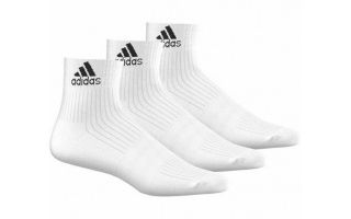 adidas CALCETINES PERFORMANCE BLANCO 3P
