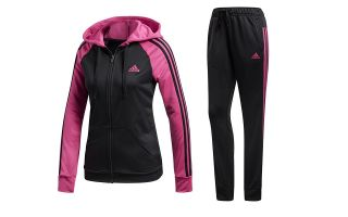 ADIDAS CHANDAL RE FOCUS NEGRO FUCSIA MUJER