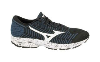 Mizuno WAVEKNIT R2 BLACK WHITE J1GC182909