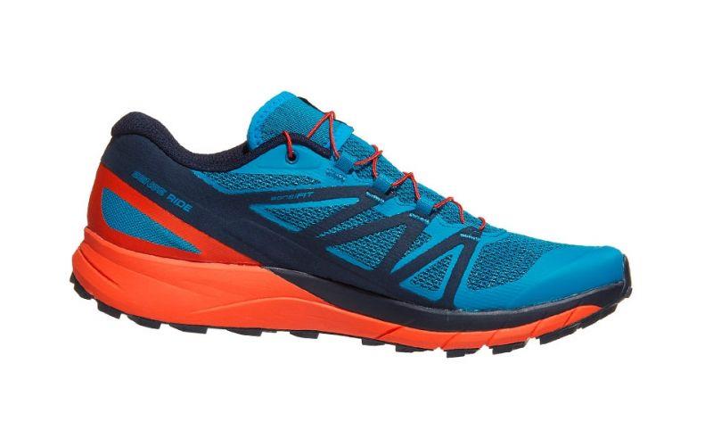 new product 9a2f3 b45ba Salomon SENSE RIDE BLUE ORANGE L40484800