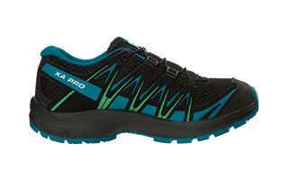 Salomon XA PRO 3D BLACK BLUE GREEN BOY L40638800