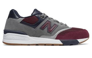 New Balance 597 GRIS ROJO AZUL ML597 BGN