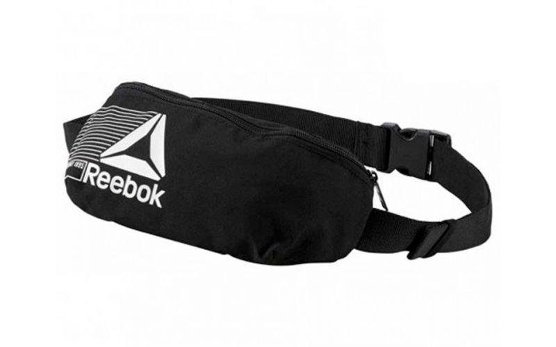 155583594e Reebok Foundation black bum bag - Comfortable fit