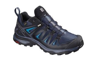 Salomon X ULTRA 3 GTX WOMEN BLUE BLACK