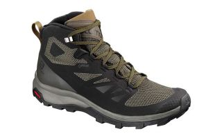 Salomon OUTLINE MID GTX NEGRO VERDE L40476300