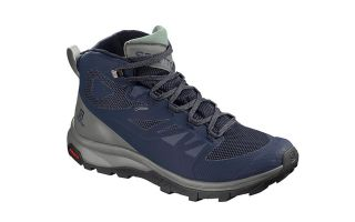 Salomon OUTLINE MID GTX BLUE GRAY L40476400