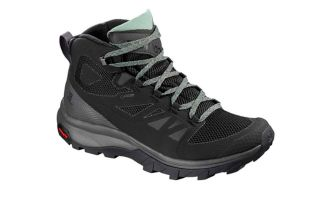 Salomon OUTLINE MID GTX WOMEN BLACK L40484400