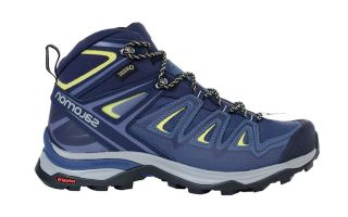 Salomon X ULTRA 3 WIDE MID GTX NAVY BLUE WOMEN L40129600