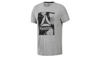 REEBOK WOR SUPREMIUM 2.0 GREY SHIRT