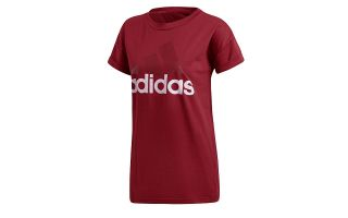 CAMISETA ESSENTIALS LINEAR LOOSE TEE ROJO MUJER