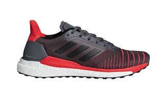 adidas SOLAR GLIDE BLACK RED CQ3176