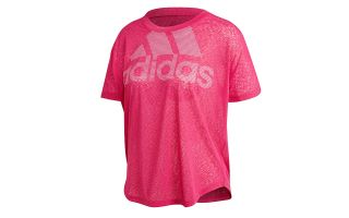 adidas CAMISETA MAGIC LOGO ROSA MUJER