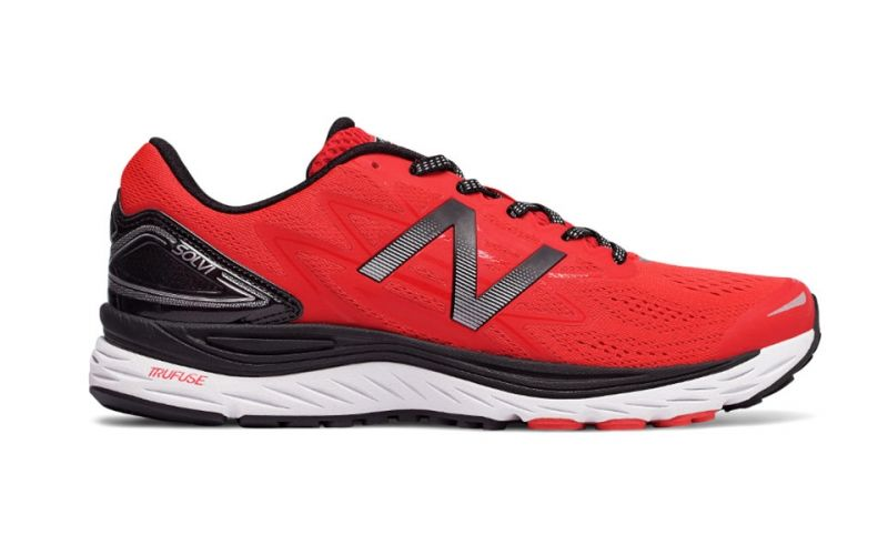 3d3673f2cf513 New Balance Msolv Running Red Black - Maximum Stability